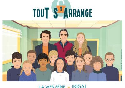 TouT S'Arrange – Web-Série à but pédagogique